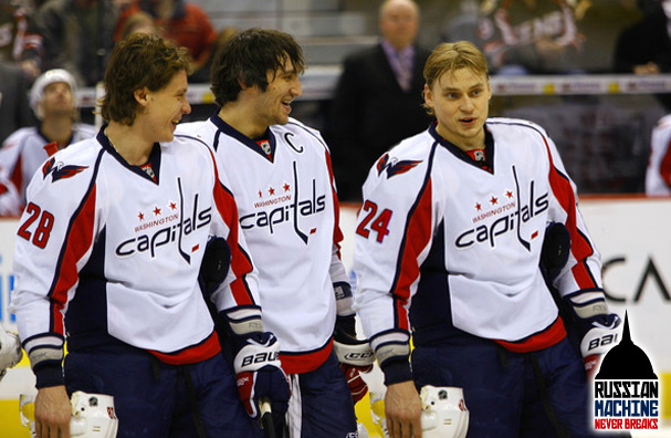 It's hard not to smile imagining Anton Volchenkov in a Washington Capitals Sweater.