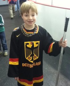 On Saturday, Ben R. got this German National Team jersey signed by Grubi.