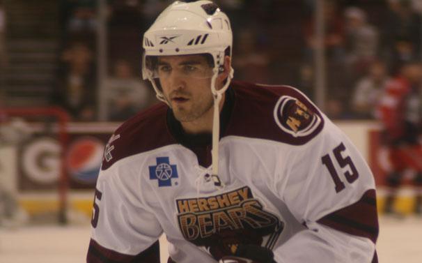 Boyd Gordon on Injury Rehab With Hershey Bears