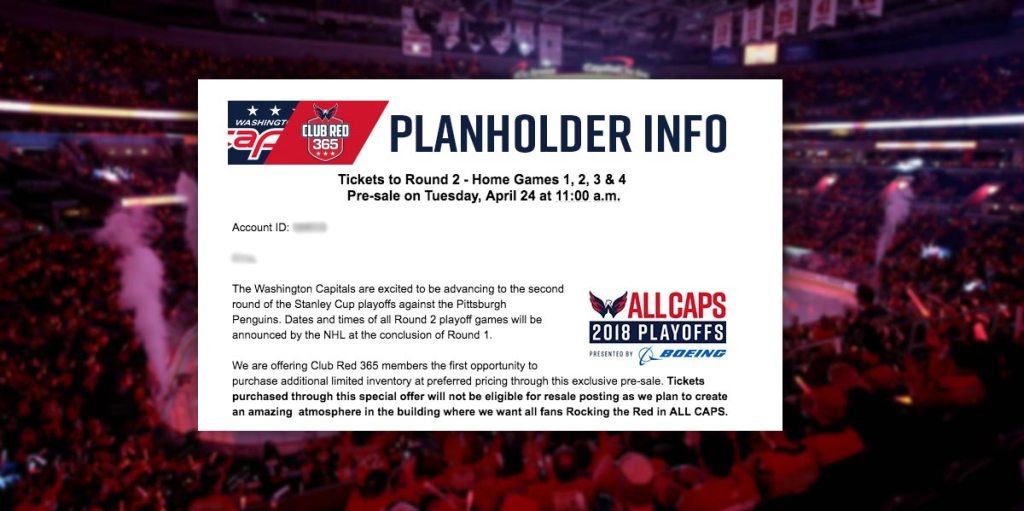 Capitals trying to keep Penguins fans out of Capital One Arena with tickets  that can t be resold e9b591bbb57e