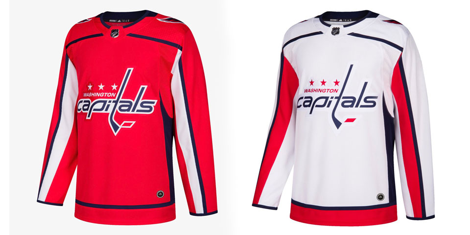 7def6ea5b18 Official photos of the Washington Capitals new Adidas jersey for the  2017-18 season