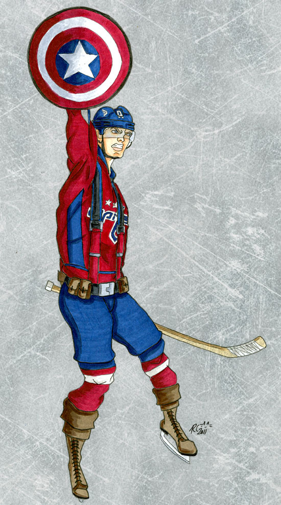 Captain America John Carlson