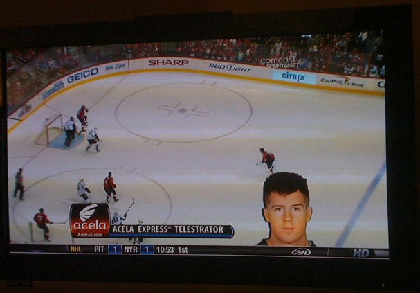 CSN Graphic Fail- Mike Green's Gigantic Floating Head