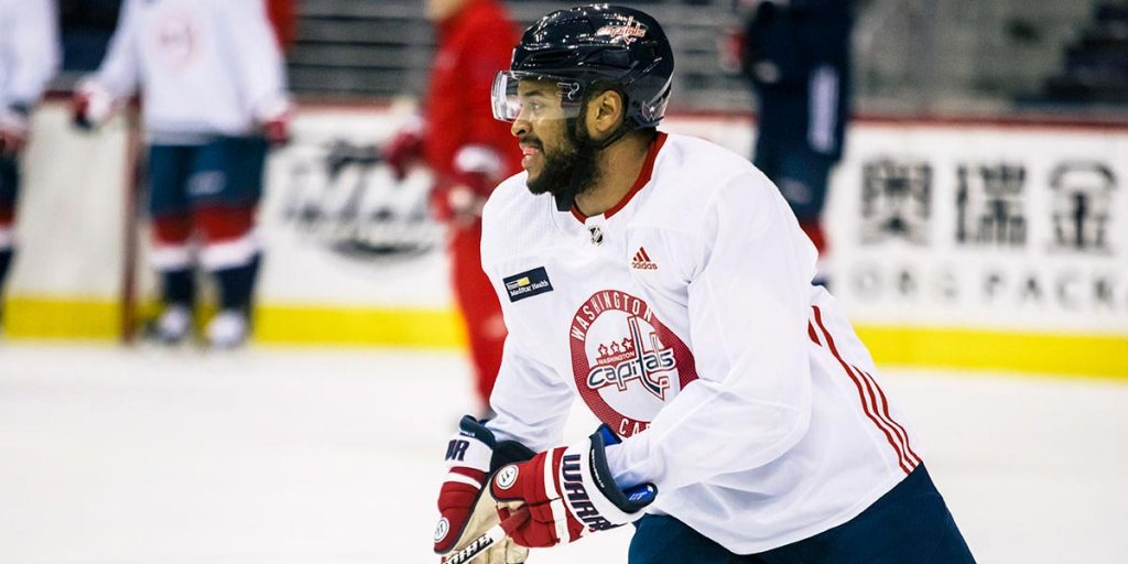 super popular daf3c ca0d2 Todd Reirden says Devante Smith-Pelly is going to the ...