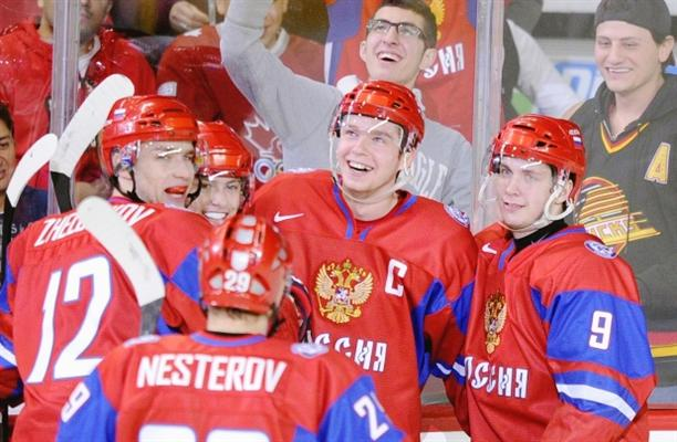 Evgeny Kuznetsov Tallies Nine Points in Russia s 14-0 WJC Win Over Latvia 68b70a5e49e