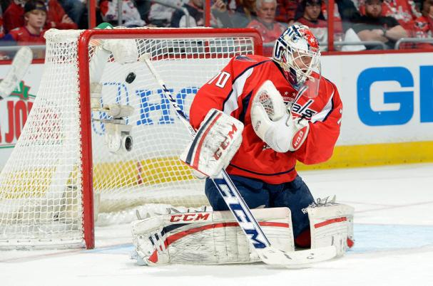 Holtby gives up a goal 7-hole