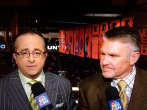 Joe B suit of the night: all of the things