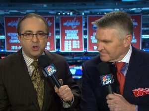 Joe B suit of the night. Look at those colors. He's like a painter.