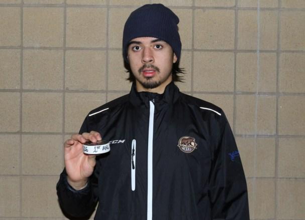 Jonas Siegenthaler First AHL Point