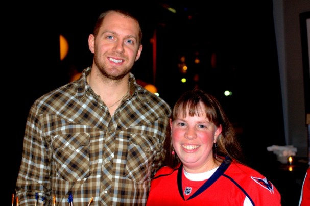 Jessica with Eric Fehr