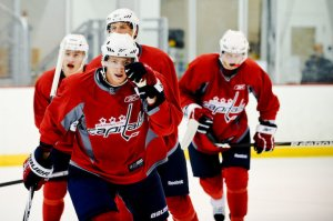 We interviewed Evgeny after he scored two goals and had an assist in Wednesday's Scrimmage.