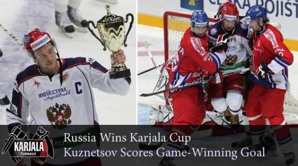Evgeny Kuznetsov Karjala Cup