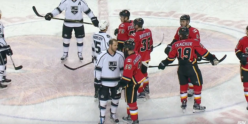 the best attitude 95d9b fc2c2 The Calgary Flames and LA Kings negotiate terms for imminent ...