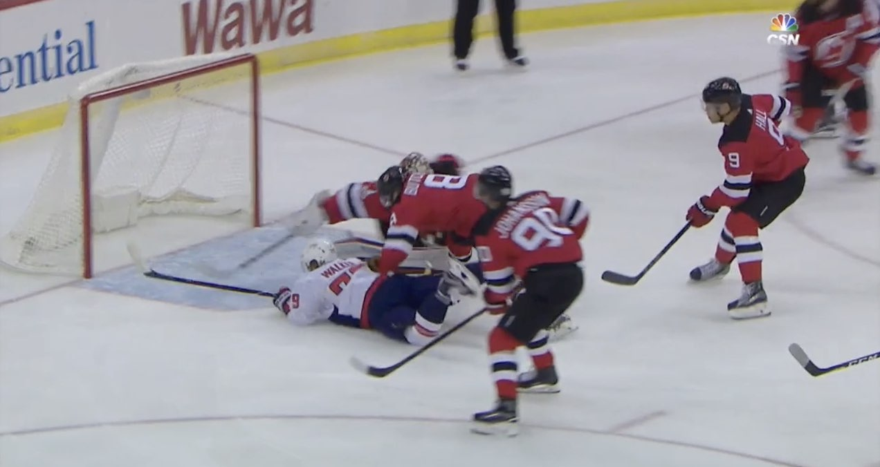 Nathan Walker scores first goal of the Capitals preseason a259c6cbc6f5