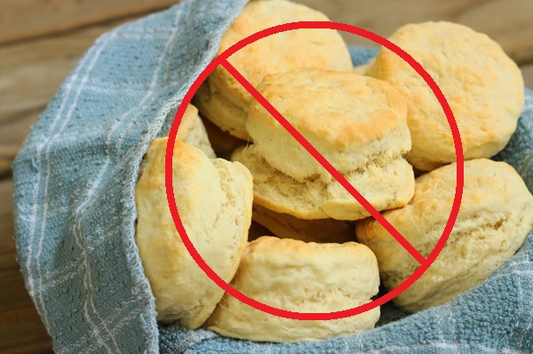 no biscuits in the basket