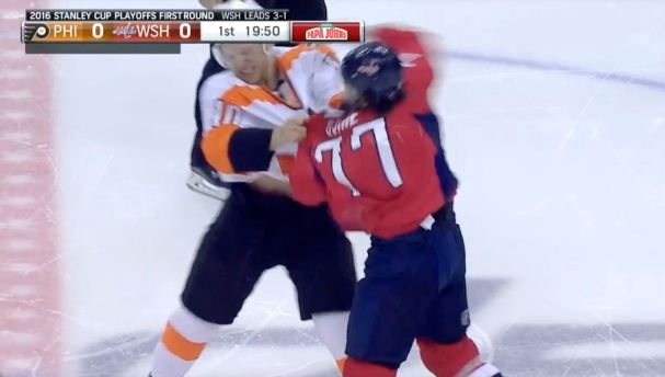 oshie-fight