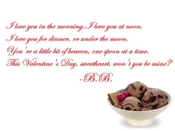 Bruce Boudreau Valentine