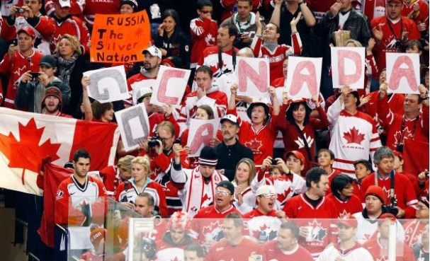 Canadian fans a bit disrespectful
