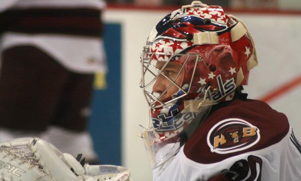 Semyon Varlamov Rehabs with the Hershey Bears