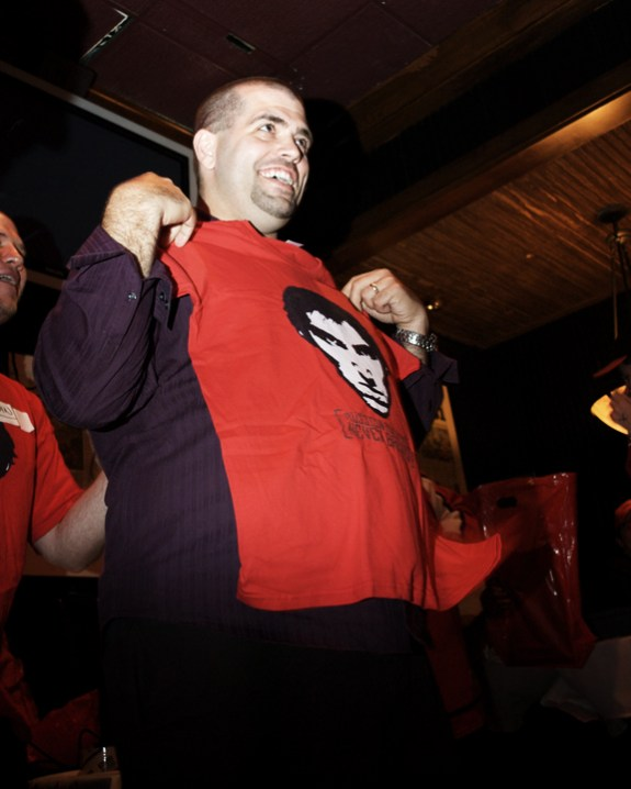 Chris wins the ladies medium RMNB T-Shirt