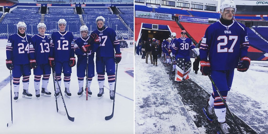 the latest 0a601 d027d Team USA to wear Buffalo Bills inspired uniforms for World ...