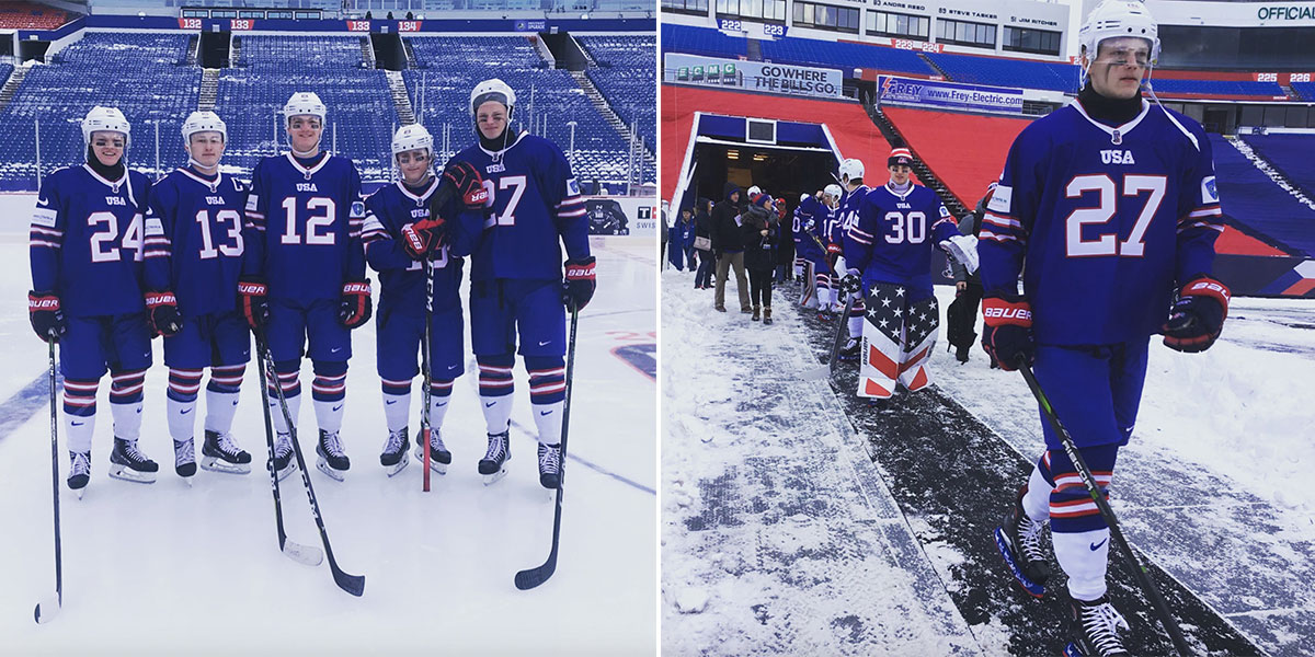 the latest bf0f9 0bb5a Team USA to wear Buffalo Bills inspired uniforms for World ...