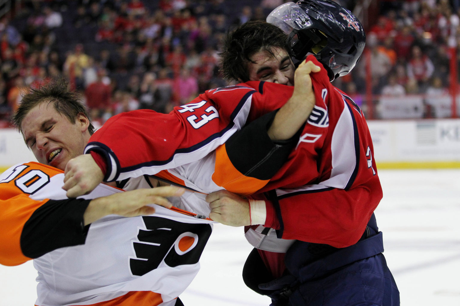 The Greatest Photos Ever Of A Tom Wilson Punch