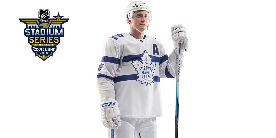 timeless design 64e33 6d7b5 The Leafs officially released their Stadium Series jerseys ...