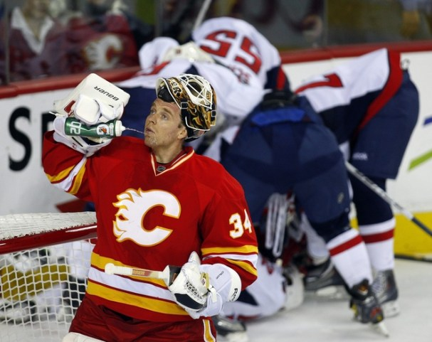 Suffice to say, it was a tough night for Kiprusoff