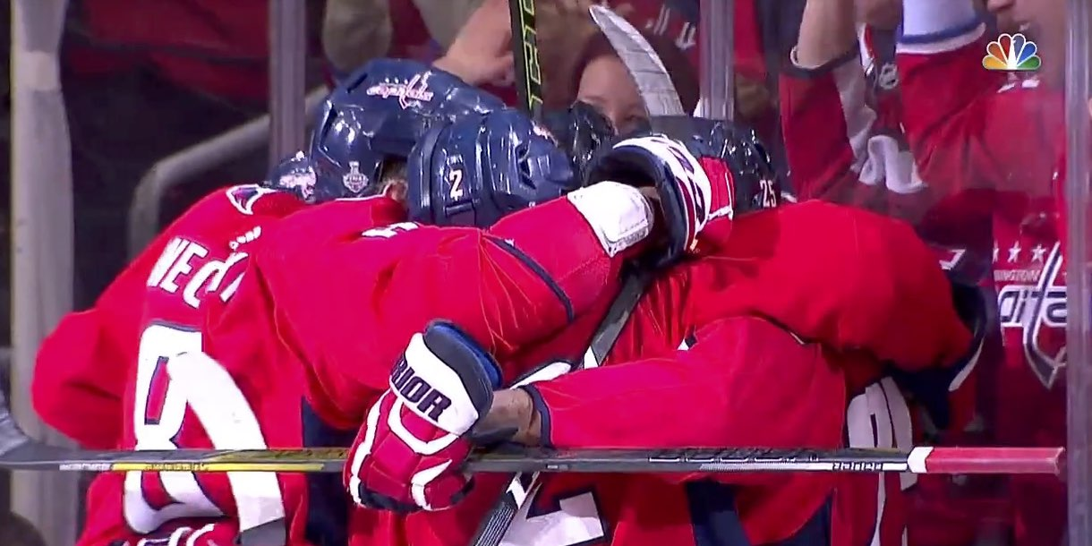 Capitals beat Golden Knights 4-3 to win Stanley Cup