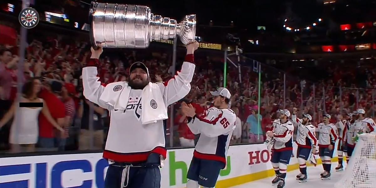 239dc07dd The Capitals' first lap around the T-Mobile Arena with the Stanley Cup was  a beautiful and powerful moment. Peter Hassett set the scene as several  Capitals ...
