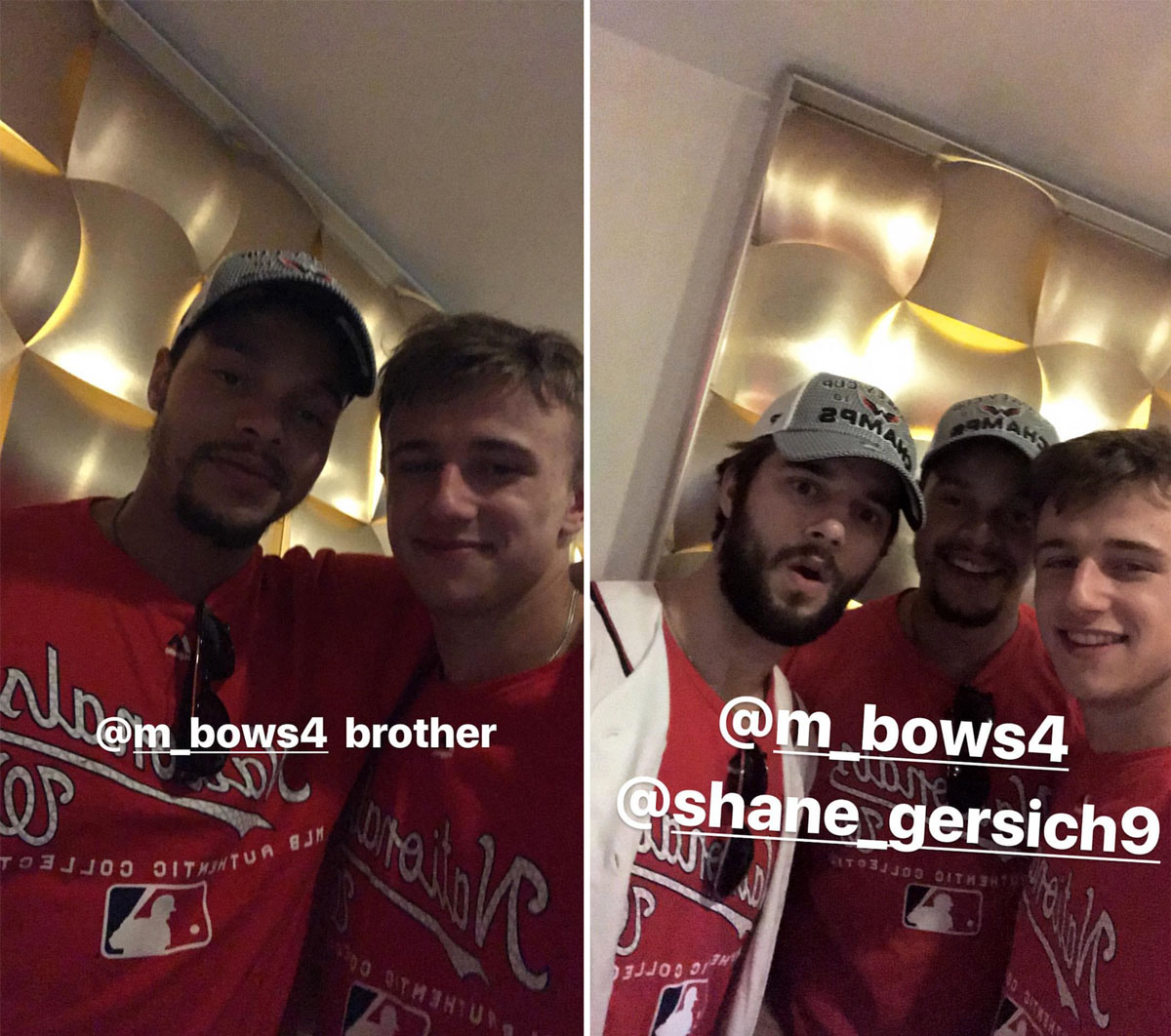 Jakub Vrana Documented The Capitals Party In A Series Of Amazing