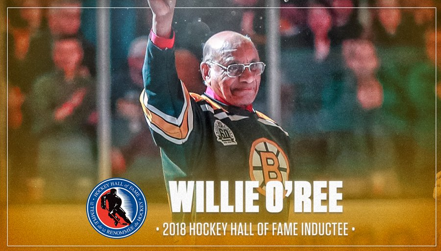 Image result for willie o'ree hockey hall of fame