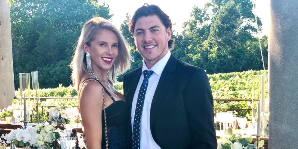 TJ Oshie and Lauren Oshie attended Kevin Shattenkirk's wedding