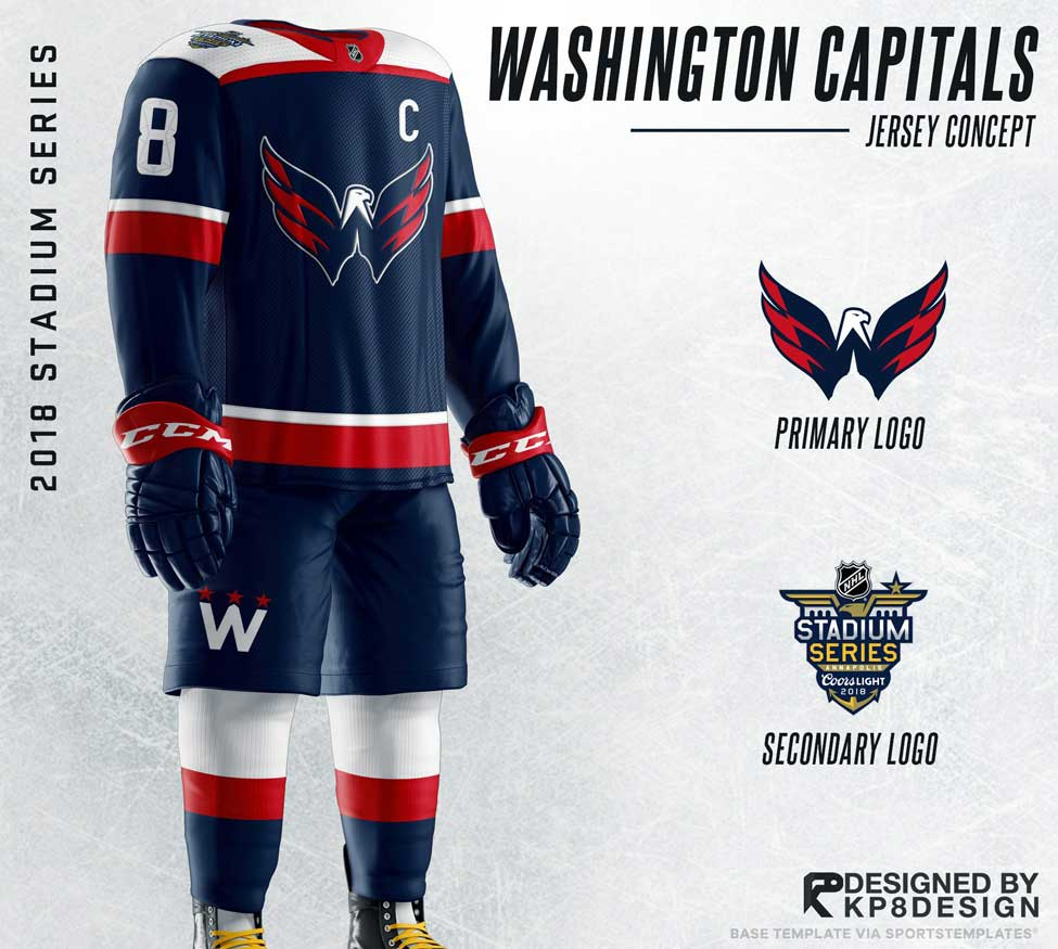 best service 69fa8 8e7e7 Caps fans want the Weagle as the primary logo on a jersey ...