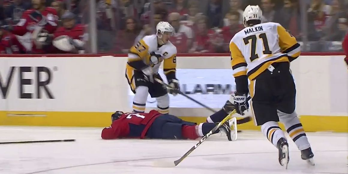 Report  Evgeni Malkin will not be suspended for hitting TJ Oshie in the head 966c17d7ddc5