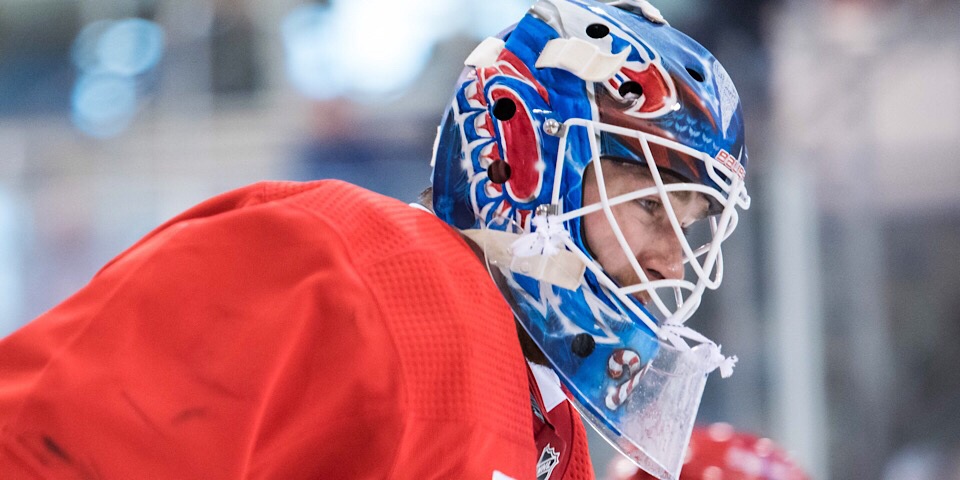 Capitals Dress Emergency Goalie Gavin Mchale To Back Up Pheonix Copley Braden Holtby Is Outrmnb