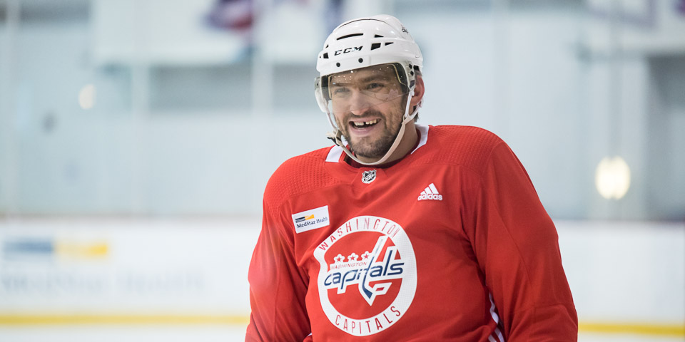 Alex Ovechkin on his future in hockey: 'I want to play until I can't play'