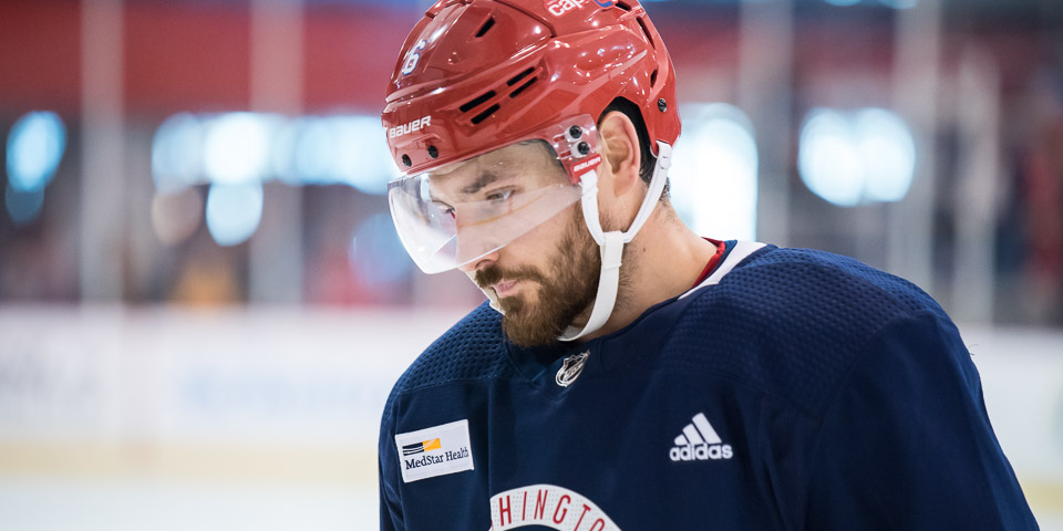 Michal Kempny suffered three traumatic injuries to his left leg in three years. Now he's back healthy and pain-free. 'It means a lot to be here.'