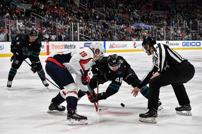 Capitals come to San Jose and snap Sharks' six-game winning streak