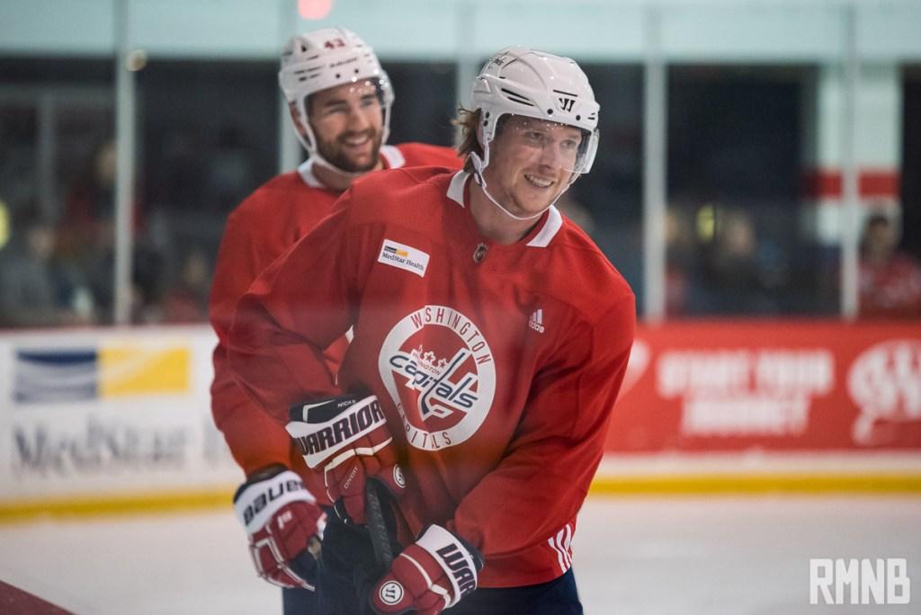 aaba6c38b1a Caps vs Bruins pregame  Return of Ovi