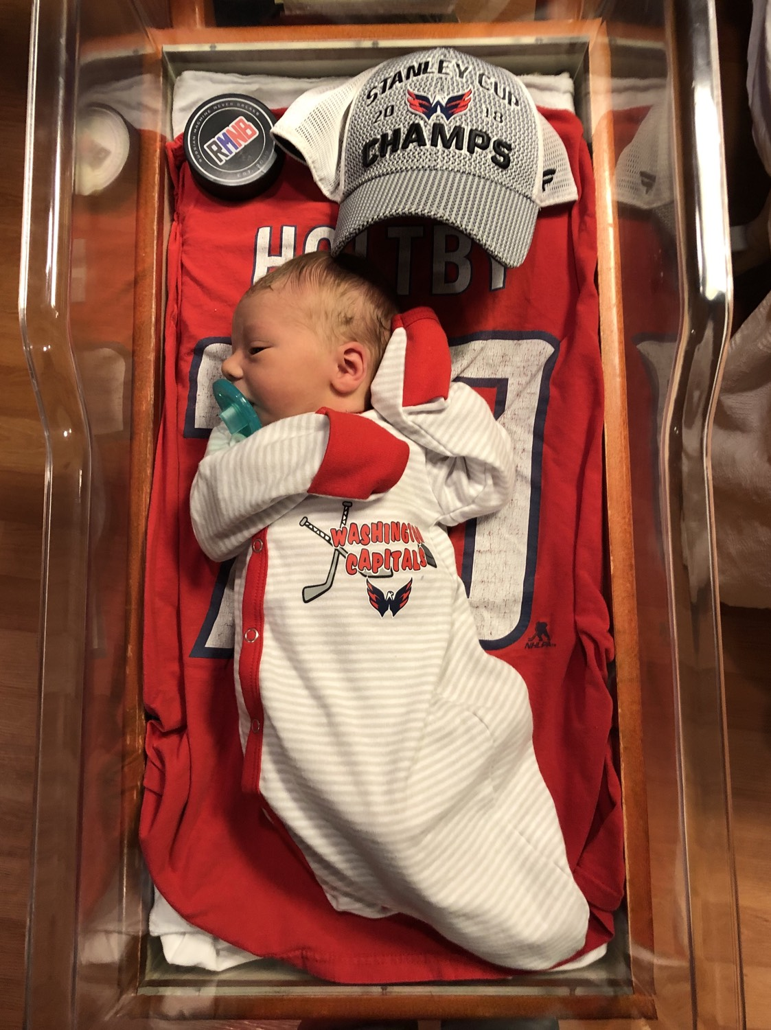 Meet the Stanley Cup Baby born 9 months to the day after ...