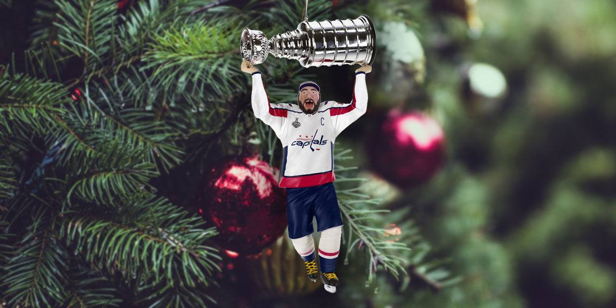 Hallmark is releasing an Alex Ovechkin Stanley Cup champion Christmas ornament and you definitely need to buy it