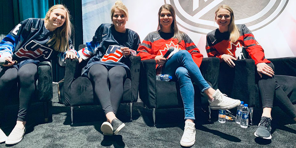 Hickels join fight for better conditions in women's professional hockey