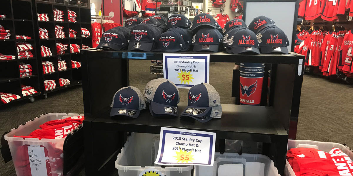 separation shoes c163b 26b3c Discounted Capitals Stanley Cup championship gear available ...