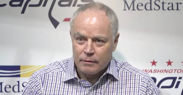 Brian MacLellan doesn't rule out Nicklas Backstrom or Braden Holtby re-signing before Capitals' season opener
