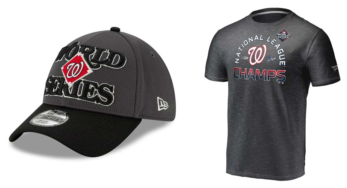Get Your Washington Nationals World Series Gear Here