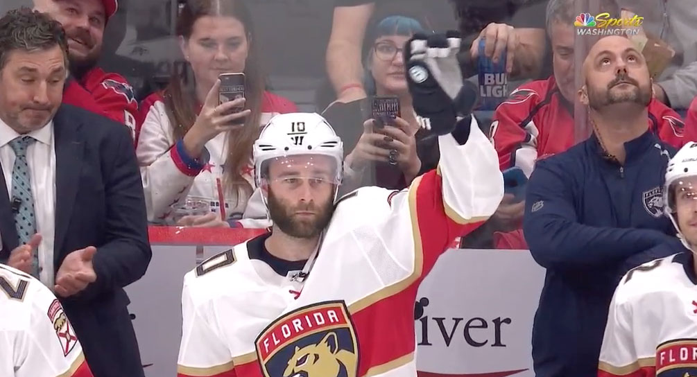 Florida Panthers place Brett Connolly on waivers