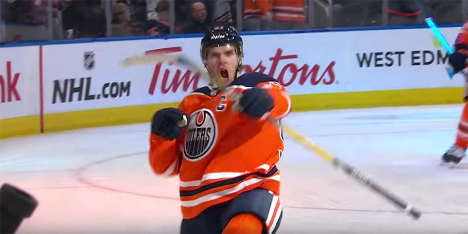 Connor McDavid scores hat trick, a career-high six points in Oilers' rout of injury-plagued Avalanche