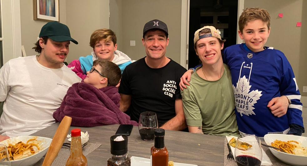 Christina Marleau gets pranked by her 13-year-old son